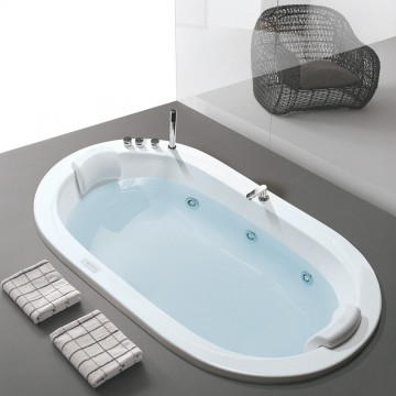 Hafro vasca idromassaggio oasy 195x115 progetto bagno s r l - Vasche da bagno ad incasso ...