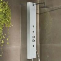Banos10 Colonna doccia Liscio Naturale effetto pietra H148