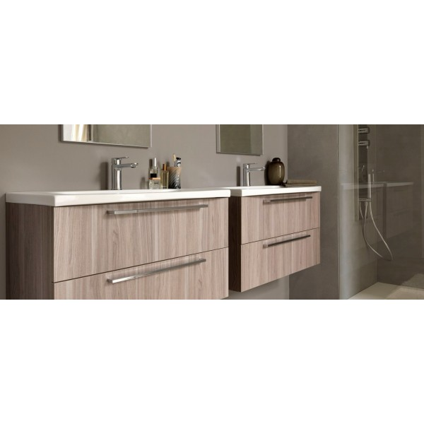 ARCHEDA - LIGHT EVOLUTION - MOBILE SOSPESO DOPPIO LAVABO ...